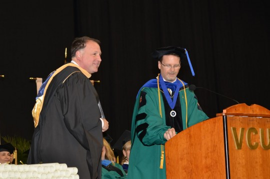 Senator Creigh Deeds at VCU's 2014 graduation exercises